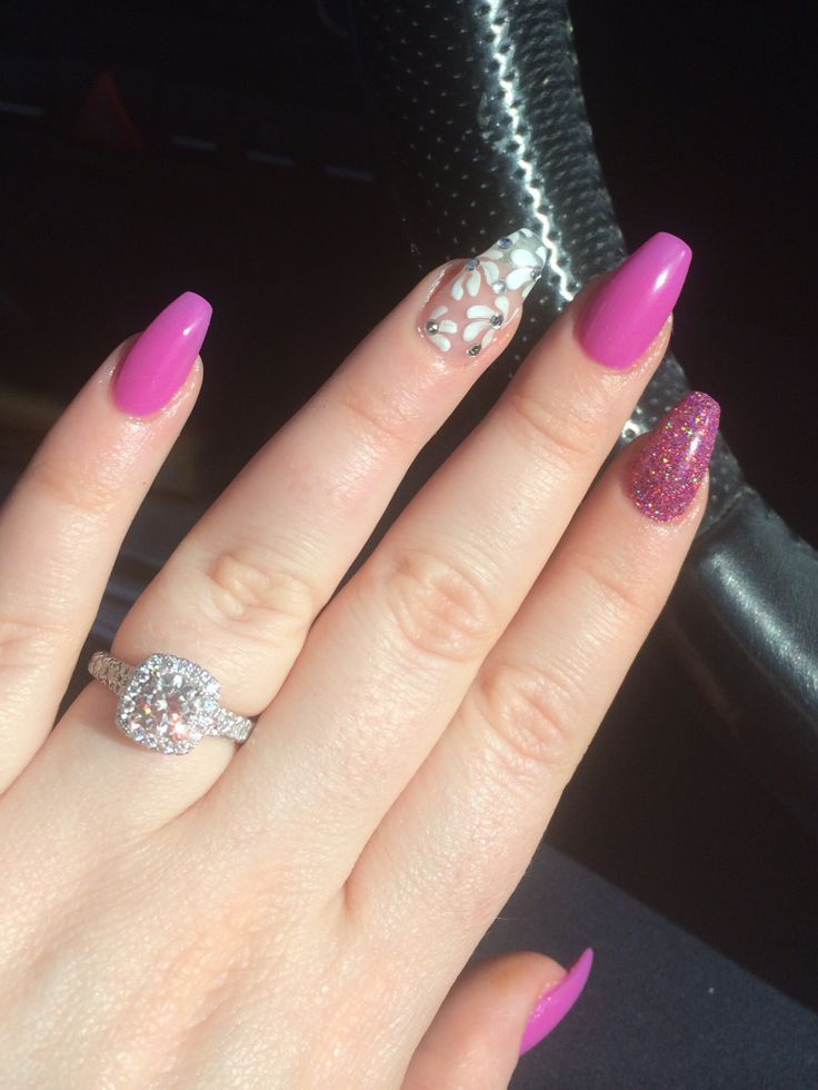 In this post we have collected most beautiful ballerina shaped nails designs  for inspiration. These nail art designs are perfect for long nail lovers! - Short Coffin Shaped Nails - Yahoo Image Search Results Nails