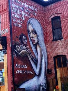 Where Dreams Come From By Herakut In Downtown Lexington Ky My Town Art Street Art Wall Art