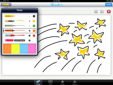 Doodle.ly Feel the need to doodle? Want to release you