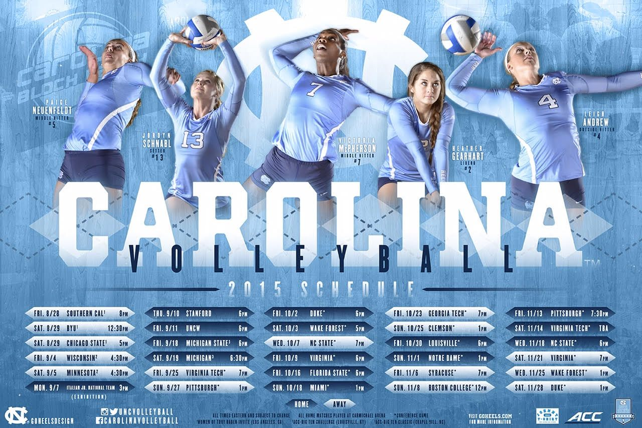 Posterswag Com Top 30 Ncaa Volleyball Schedule Posters Smsports Sportsbiz Volleyball Posters Sport Poster Design Sports Design Inspiration