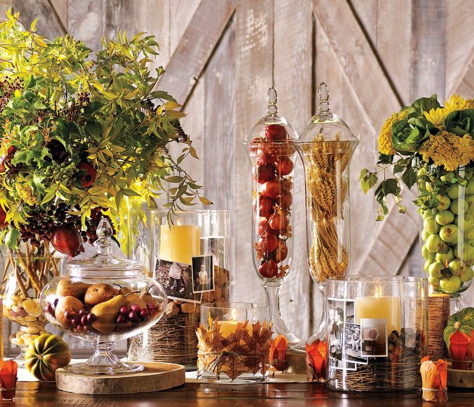 Thanksgiving Decor Ideas Part - 24: Ideas For Easy Thanksgiving Decorating