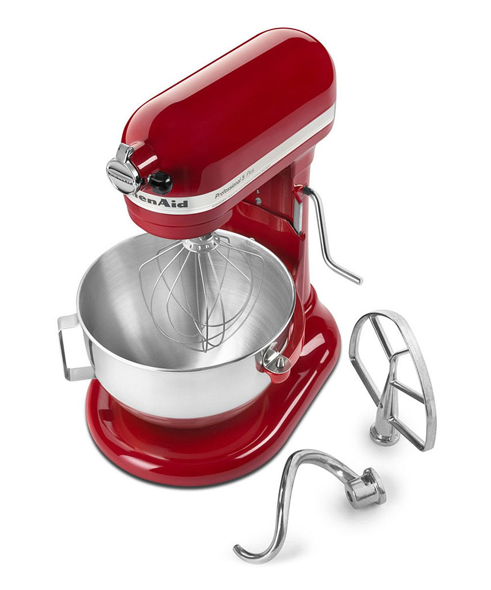 Red professional plus 5qt 450w stand mixer daily