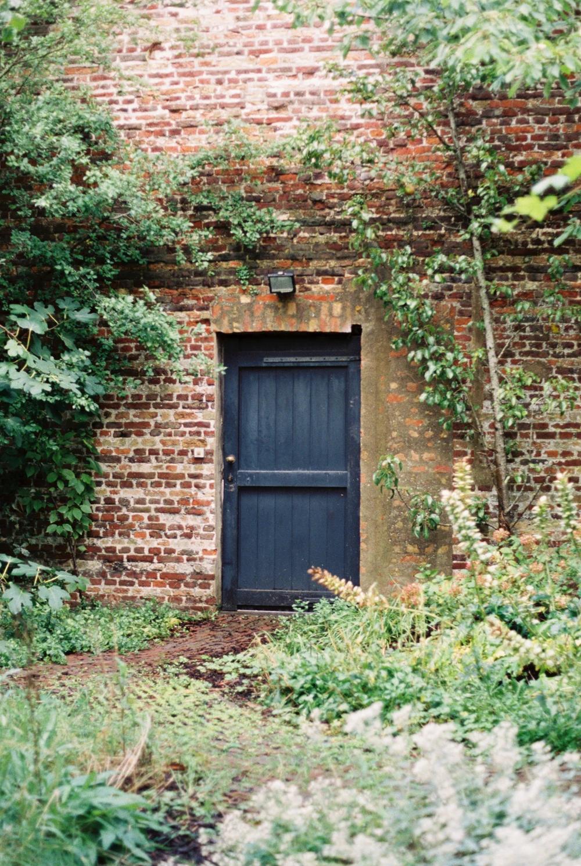 Secret Garden Door in Bruges