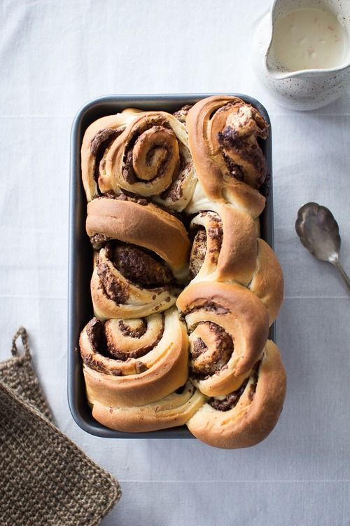 organicafe:  4himglory:  Cinnamon Rolls | Flourishing Foodie on We Heart It.  ➳