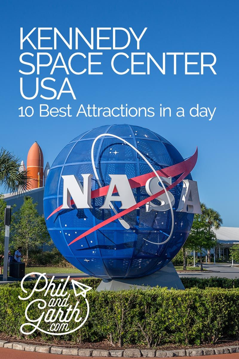 10 Best Attractions at the Kennedy Space Center #usatravel