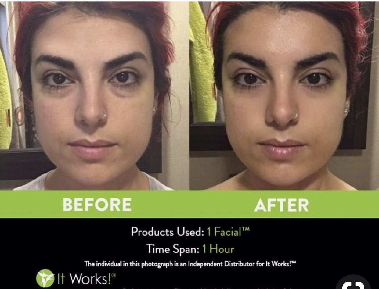 Get Your Facial On It Works Facials It Works Marketing It Works Products