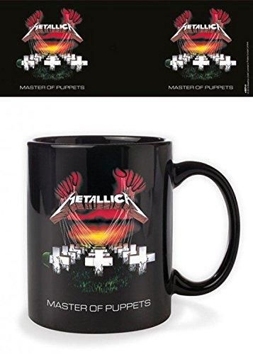 Metallica Ceramic Black Mug Master of Puppets Band Boxed Official Licensed NEW