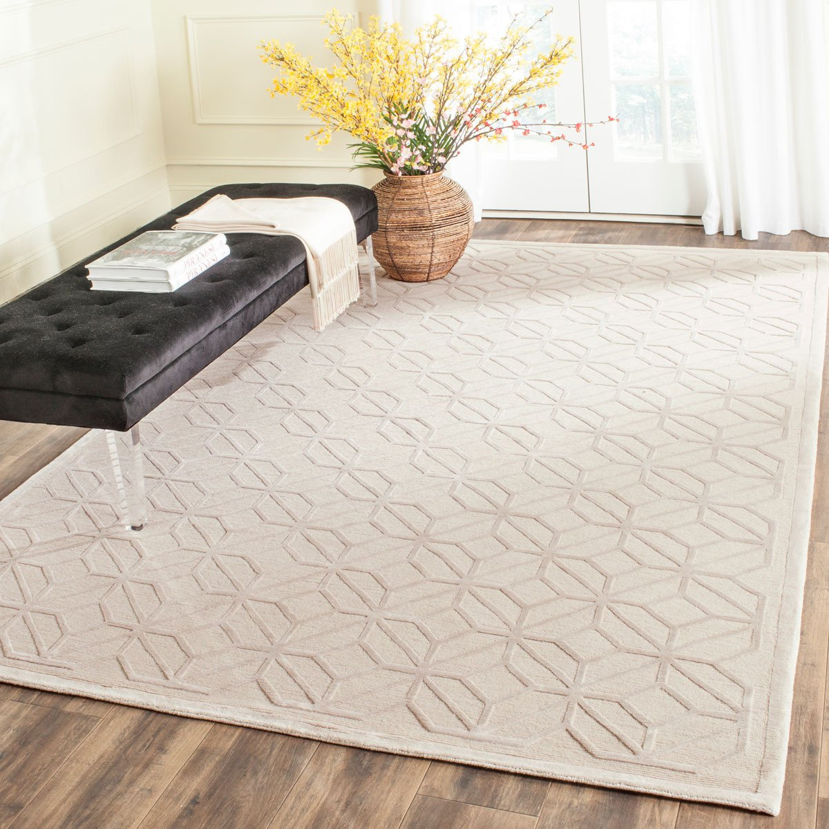 Safavieh Tibetan Tb425c Pearl Rug Products Rugs Area