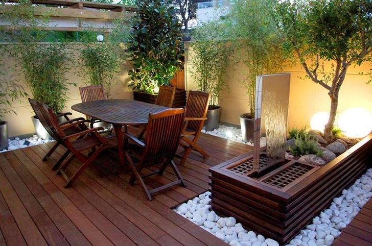 Terraza Madera Patios Decoraciones De Jardín Y