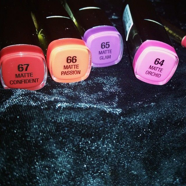 """@milanicosmetics Color Statement Matte Lipsticks I'm loving Confident and Glam the most """