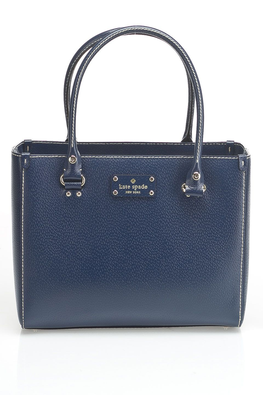 Kate Spade Wellesley Quinn Handbag In French Navy Beyond