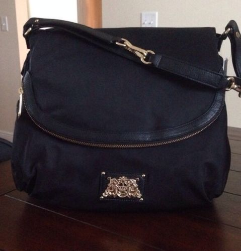 0c5cecd2eb5d Juicy Couture Crossbody Baby Bag, Diaper Bag NWT Black/have it in pink:-*