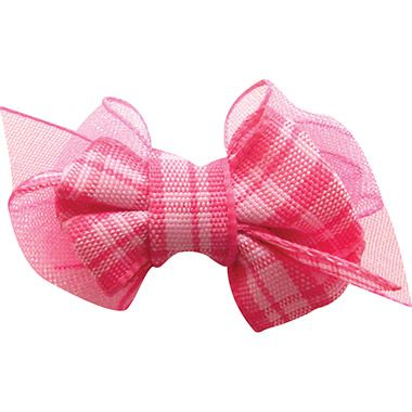 Help Your Pet Feel Oh So Pretty With This Plaid Hair Bow From Fou Fou Dog Dog Hair Bows Dog Hair Pet Accessories