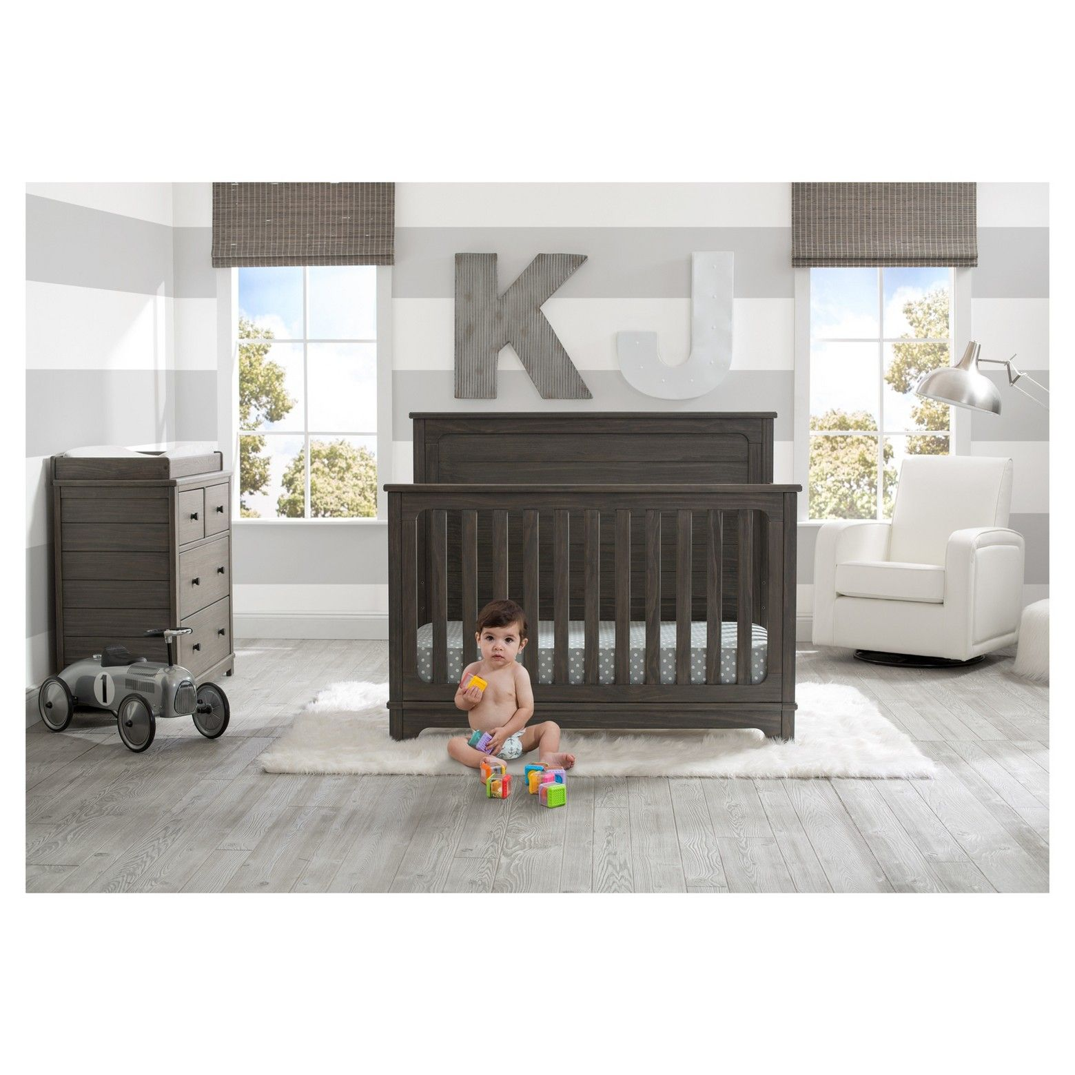 simmons nursery furniture. Equal Parts Rustic And Classic, The Monterey 4 Drawer Dresser With Changing Top From Simmons Kids Slumbertime Will Be A Standout In Any Nursery Or Furniture S