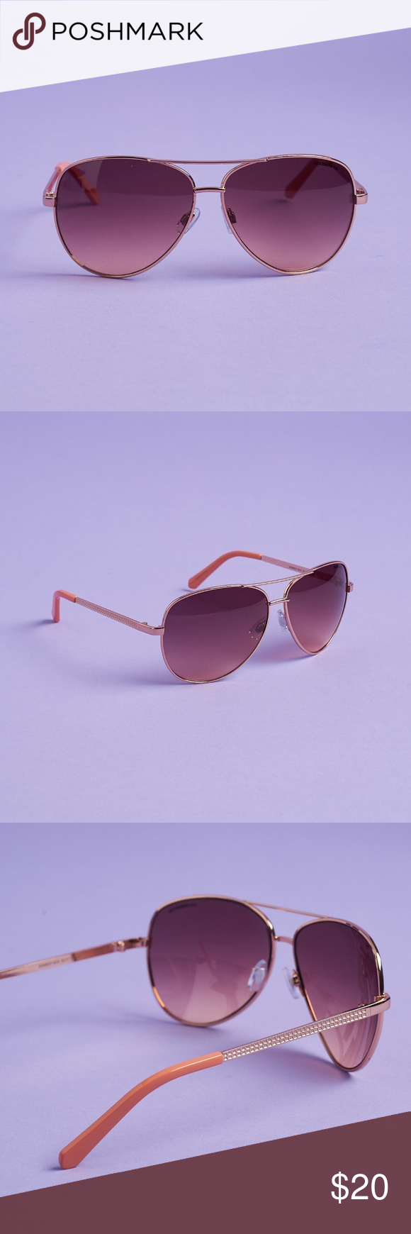 4197cb7edc The style is Sloane and it s a perfect shade of rose gold. Liz Claiborne  Accessories Sunglasses