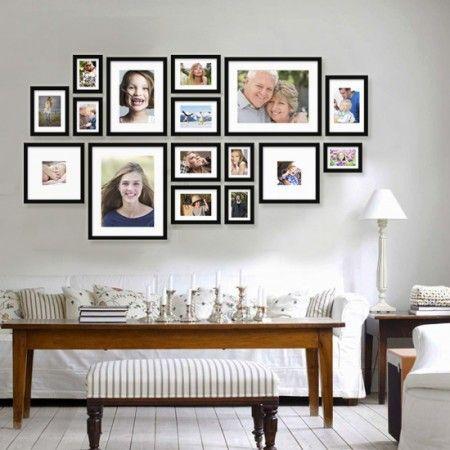 Fotowand Ikea fotowand ikea zoeken woonkamer photo wall