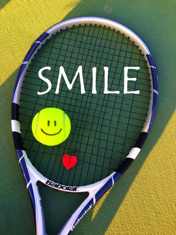 Smile If You Love Tennis Tennis Lessons Tennis Quotes Tennis