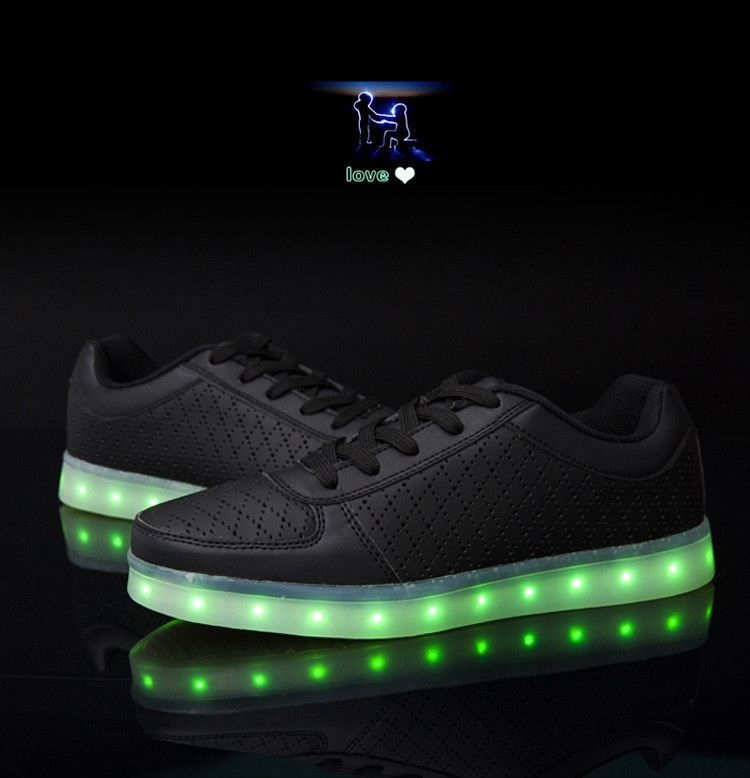 7 Colors Luminous Shoes Unisex Led Glow Shoe Men Women Fashion Usb Rechargeable Light Led Shoes F Casual Shoes Women Womens Fashion Shoes Girls Hip Hop Shoes