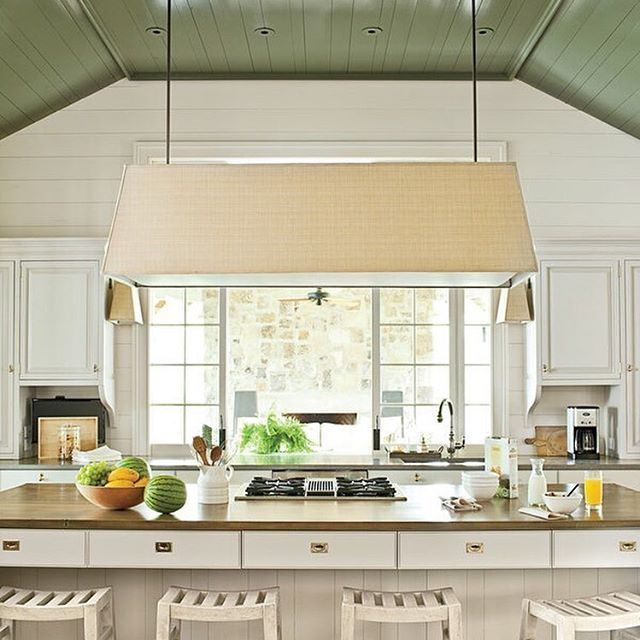 White Kitchen Cabinets To Ceiling: Get Ready For Fall By Utilizing Your Ceiling. Add Color