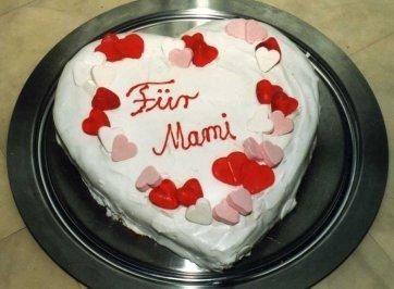Muttertag Design Kuchen