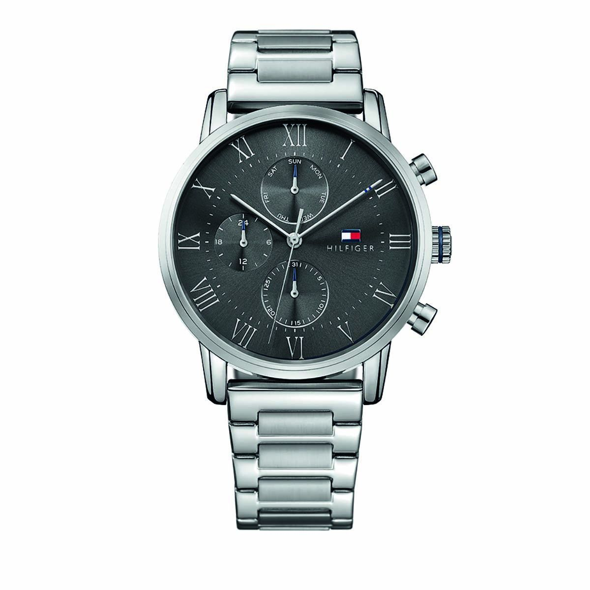 Tommy Hilfiger Multifunctional Watch Dressed Up 1791397 Silver Uhr Uhr Uhren Fossil Uhr Damenuhren Daniel Wellin In 2020 Tommy Hilfiger Watch Model Watches For Men