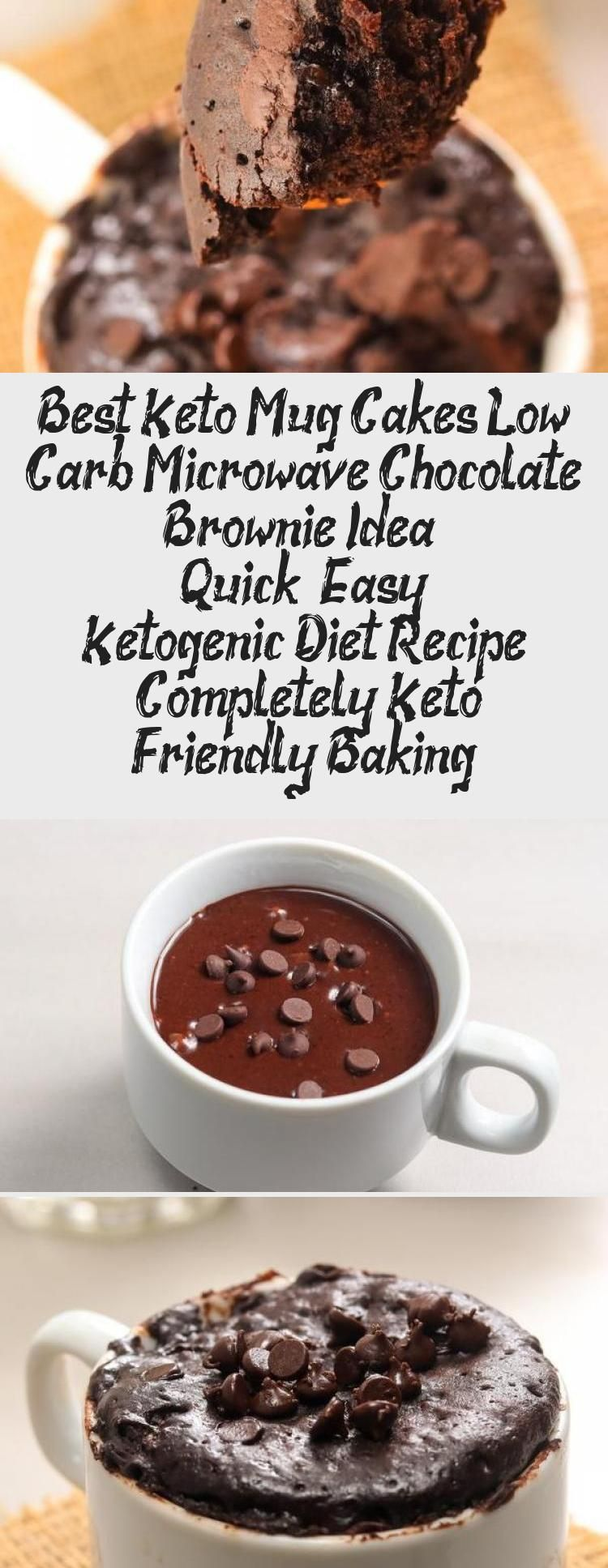 Keto Brownie Mug Cake! Easy low carb keto mug brownie ...