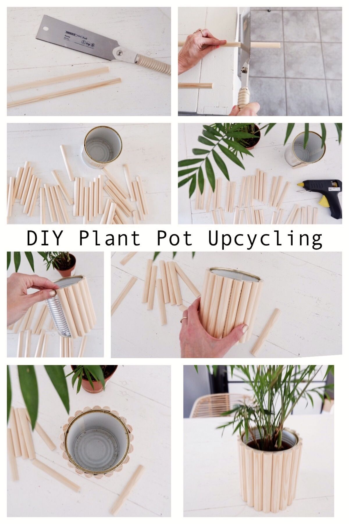 Photo of DIY Pflanzen Übertopf Upcycling à la Asplund – sophiagaleria
