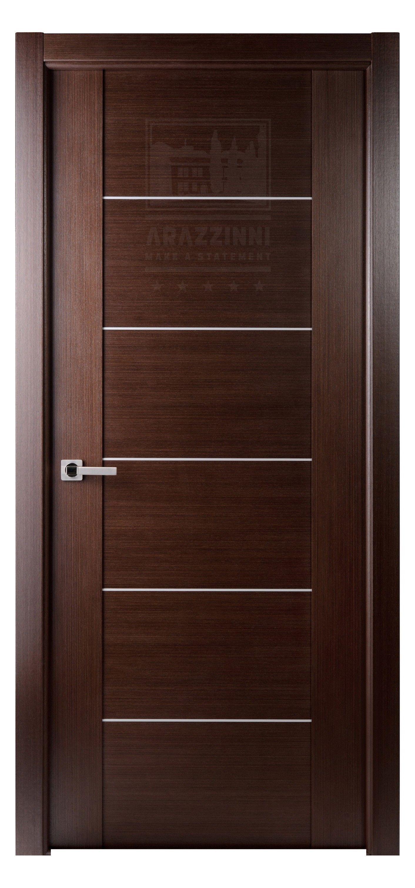 Maximum 201 Interior Door In A Wenge Finish With 5