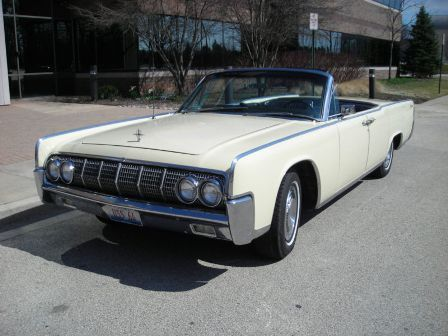 1964-Lincoln-Continental-convertible | Continental | Pinterest ...