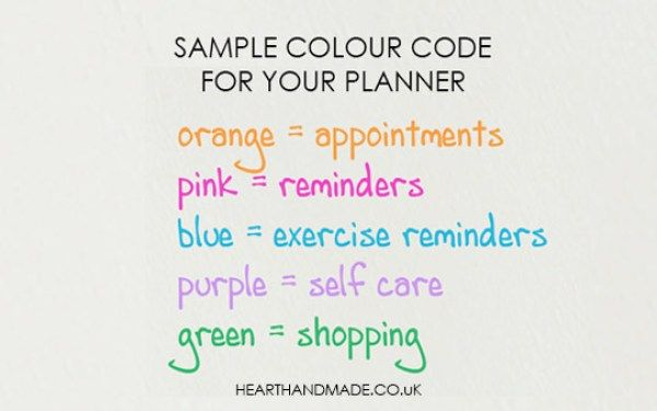 How To Color Code Your Planner Like A Total Pro is part of Planner Organization Color Code - It's so easy to learn how to color code your planner, you will wish you had done it yesterday  Come learn how to use stickers & colored pens like a pro!