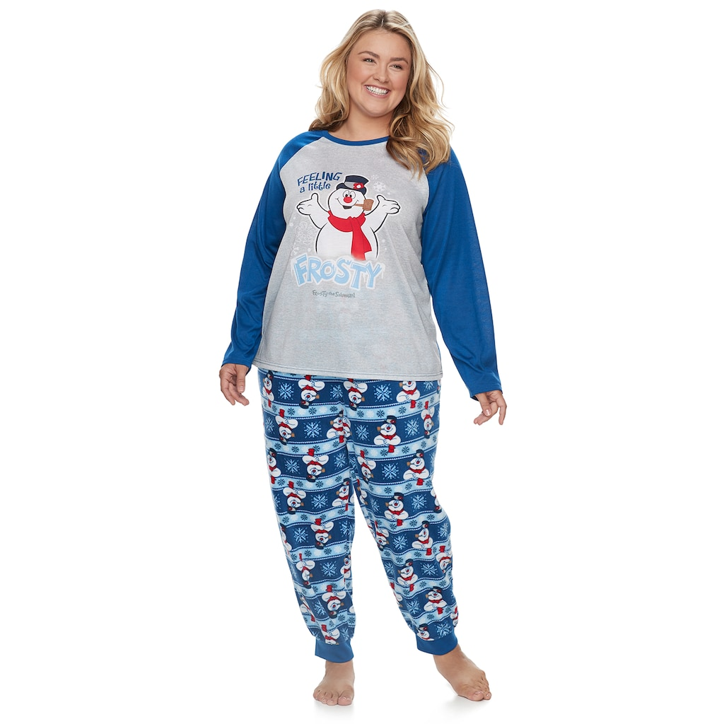 Plus Size Jammies For Your Families Frosty the Snowman