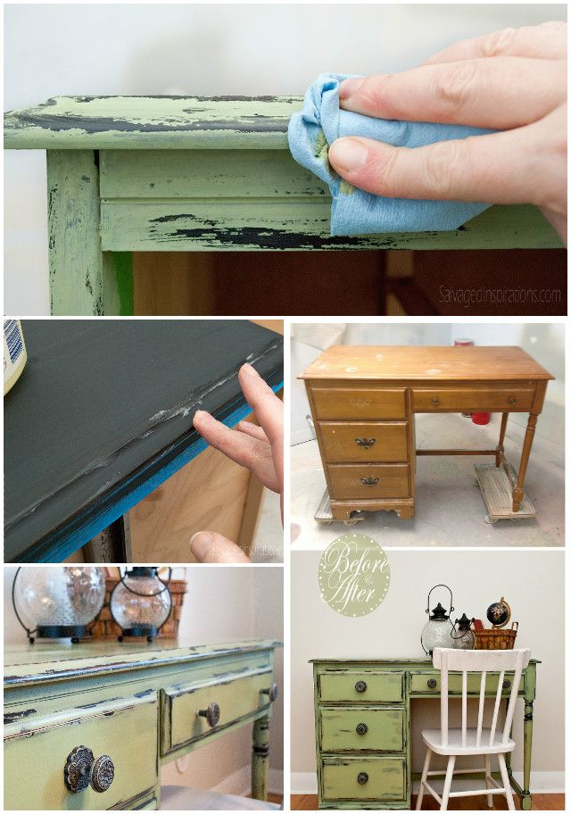 How To Distress Wood Furniture Using Vaseline Easily Video