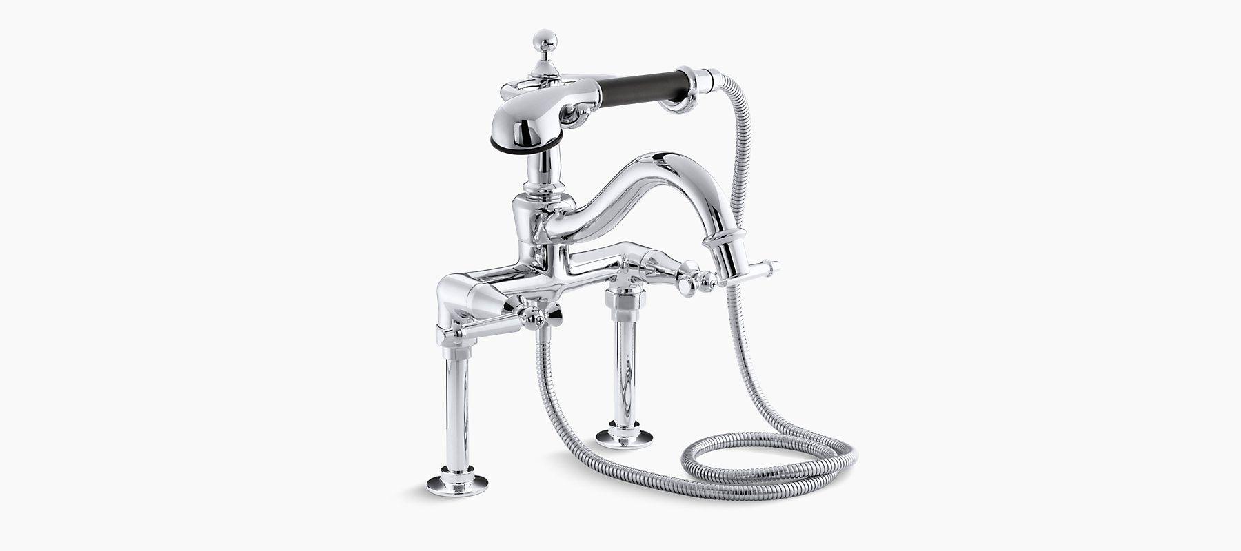 K-110-4 | Antique Bath Faucet with Handshower | KOHLER | SRDGS ...