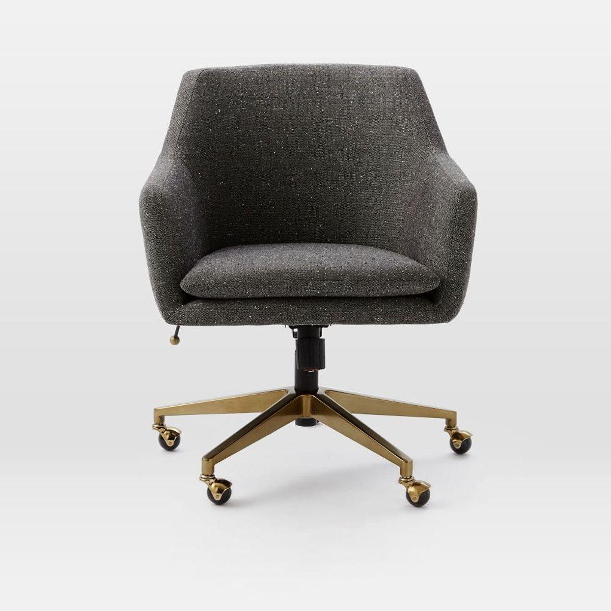 helvetica upholstered office chair | study | pinterest | house