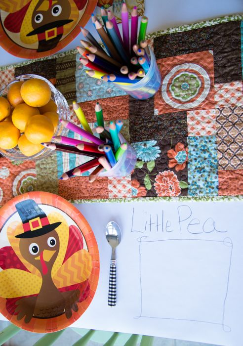 Setting a festive table for the kids | Melissa & Doug's Playtime Press
