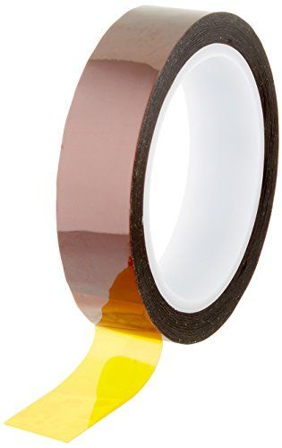 Kapton Polyimide Adhesive Tape 3 Quot Core 2 Mil Thick 36 Yd Length 1 Quot Width Fibre Optics Semiconductor Manufacturing Silicone Adhesive