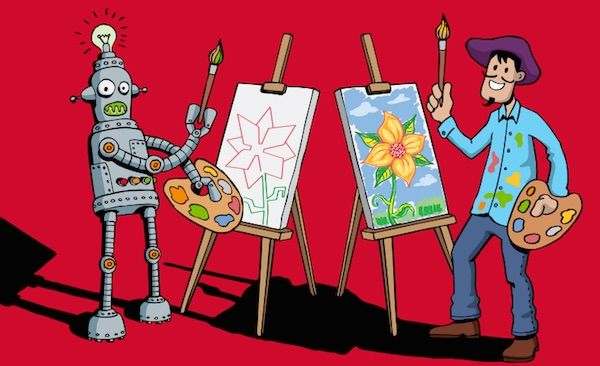 Les #métiers #créatifs ont de l'avenir, selon #RegionsJob, car ils ne risquent pas la #computerisation. http://www.blog-emploi.com/creativite-robotisation/