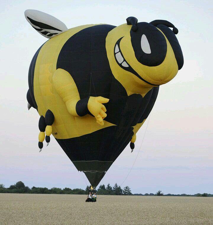 Globo aerostatico abeja