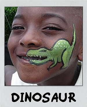 Dino Am Mund Kinder Schminken Kinderschminken Jungs