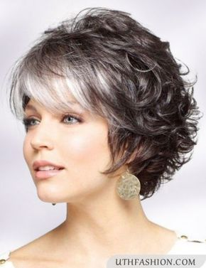 Hairstyles For 50 Years Old Woman Short Straight Hair Short Curly Hair Medium Hair Styles
