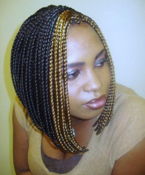 Box Braided Bob Hairstyles For Black Girls Braids Natural Styles
