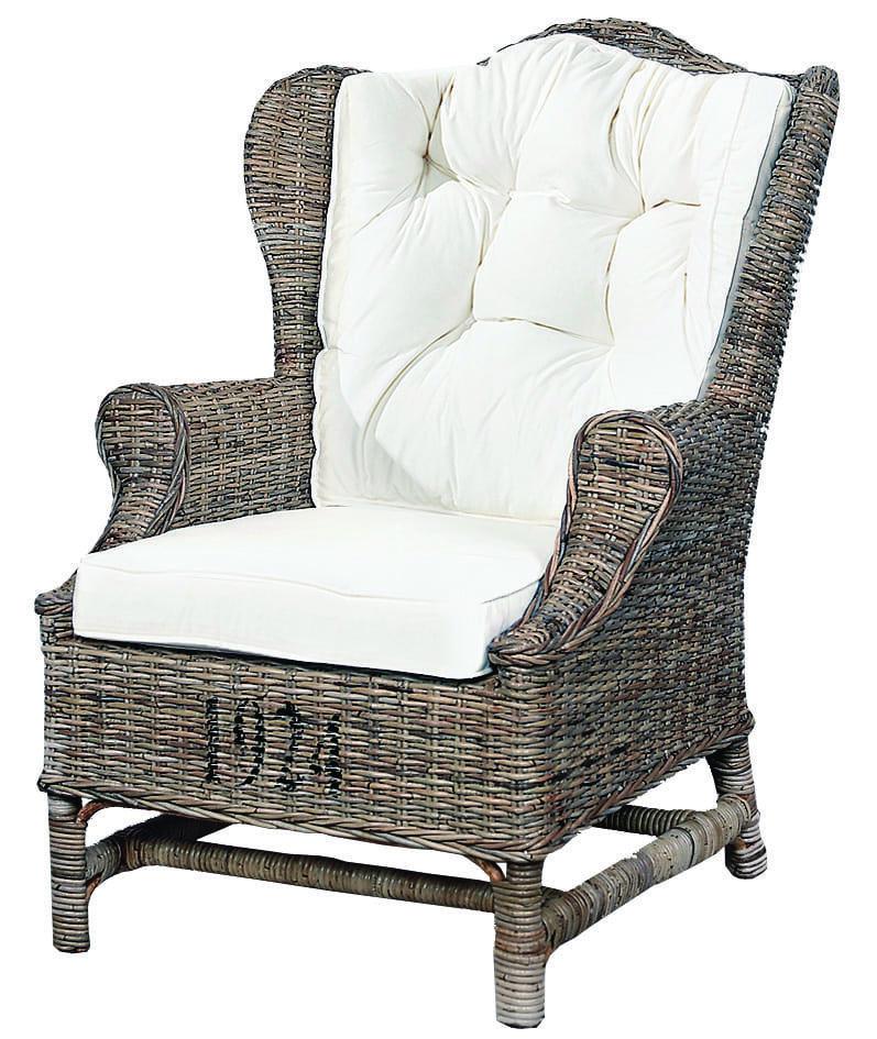 1924 High Back Kubu Grey Artwood Outdoor furniture