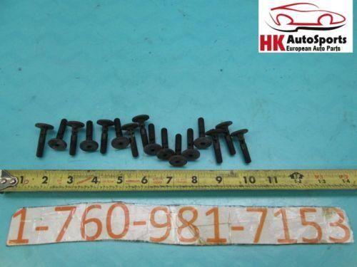 BMW E90 325I 328I 330I SEDAN ROCKER PANEL MOLDING PIN SET OF 16 OEM 06 07 08