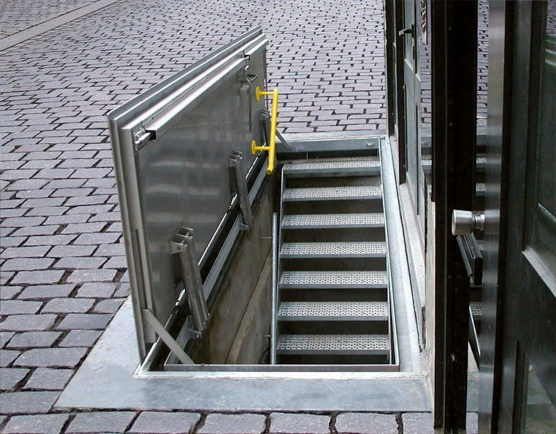 Metal hatch / floor-mounted / rectangular / with drainage channel FLOOR DOOR WA Gorter & Metal hatch / floor-mounted / rectangular / with drainage channel ... Pezcame.Com