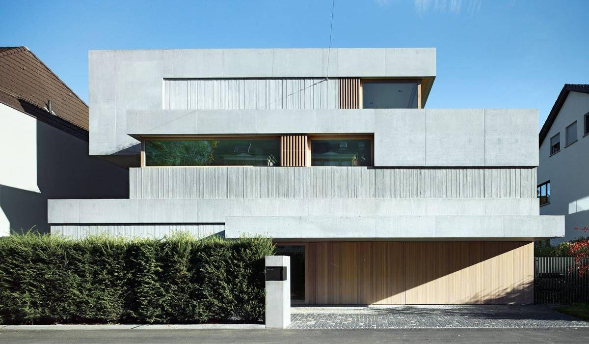 buchner bründler architekten / neubau wohnhaus kahlstrasse, basel
