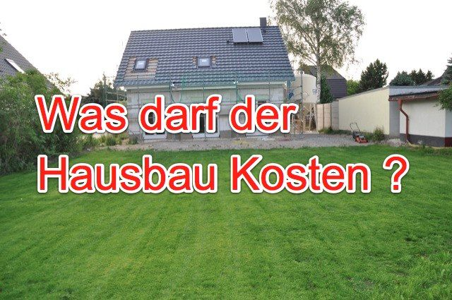 Kosten single hausbau