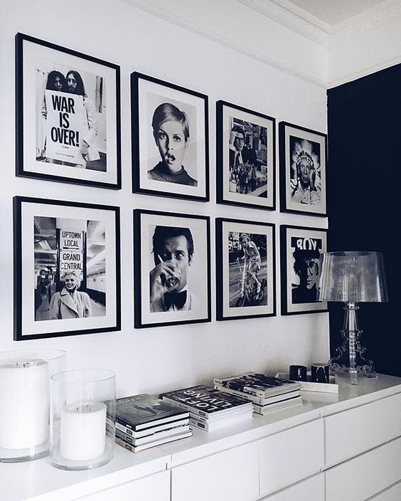12 Different Ways To Style Your Gallery Wall