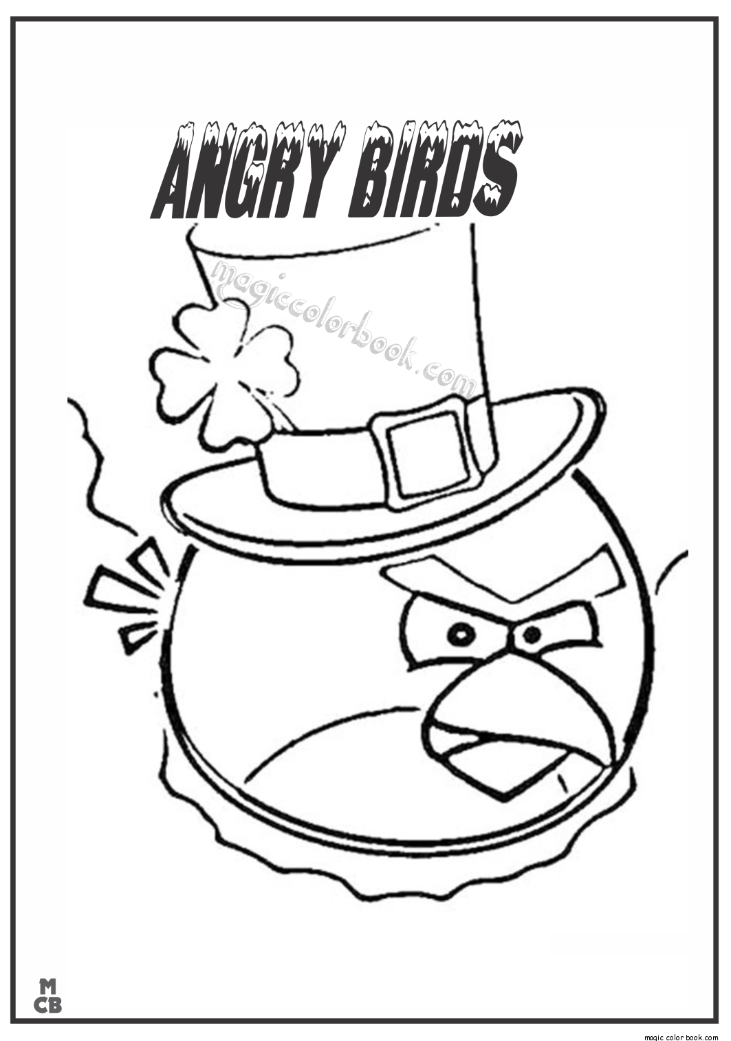 Angry Birds Seasons Coloring Pages - Coloring Home | 1512x1063