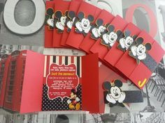unique mickey mouse invitations Google Search Uriel 2bd bday