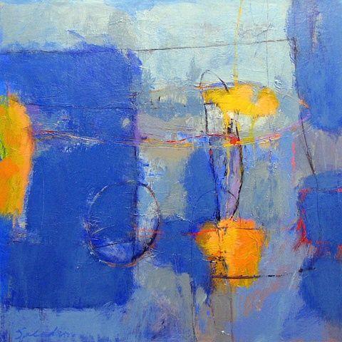 ♒ Art in the Abstract ♒ modern painting - Tony Saladino